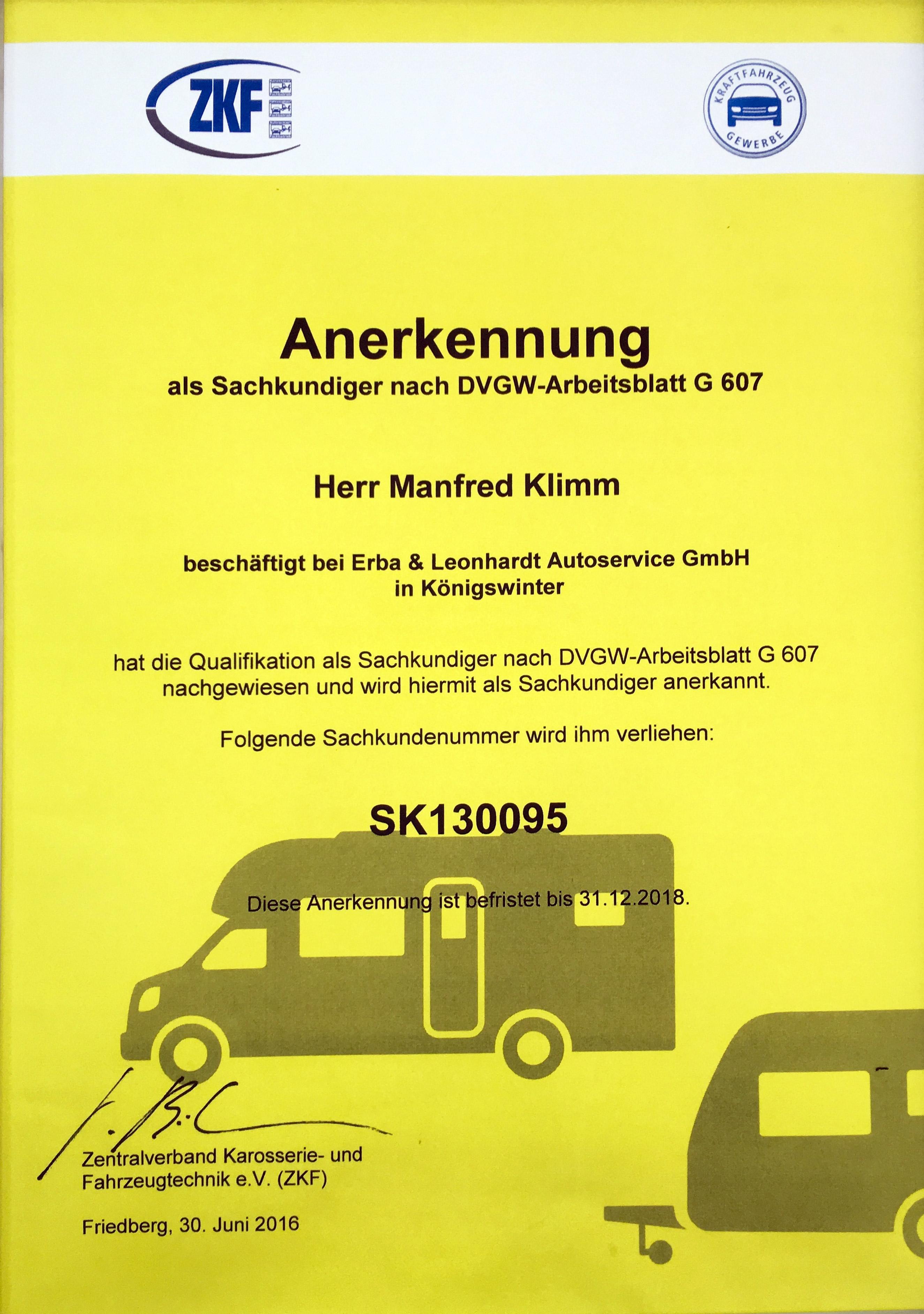 Wohnmobil & Wohnwagen Dichtheitsprüfung